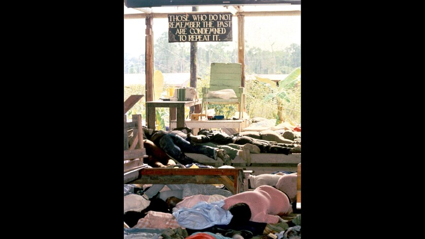 From the Archives: Hell's Echo: The Jonestown Mass Suicide