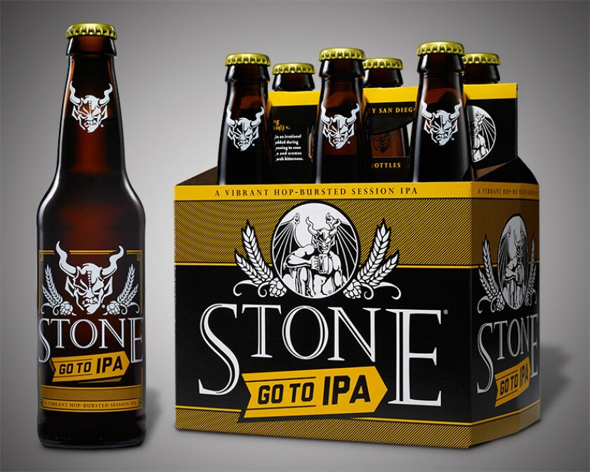 Stone's new Go to IPA, all the hops, less buzz.