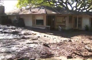 Rescuers search for survivors of Montecito mudslides