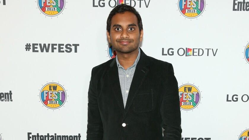 Aziz Ansari won't do an Indian accent