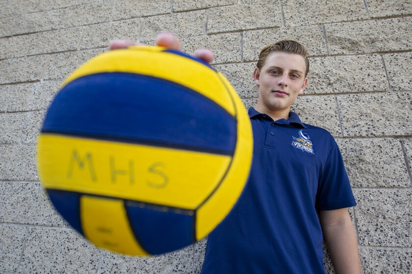 High School Male Athlete of the Week: Vincent Labonte a young gun for Marina water polo