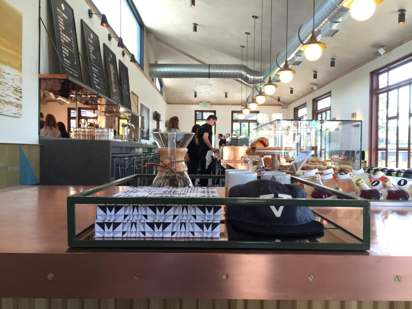 Verve Coffee Roasters, opening Tuesday in West Hollywood.