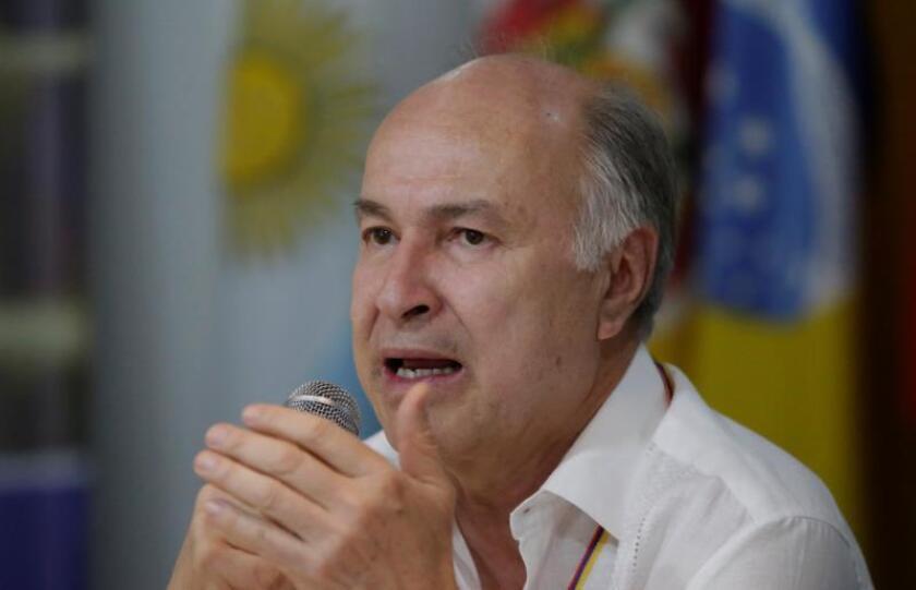 El ministro de Justicia y del Derecho de Colombia, Enrique Gil Botero. EFE/Archivo