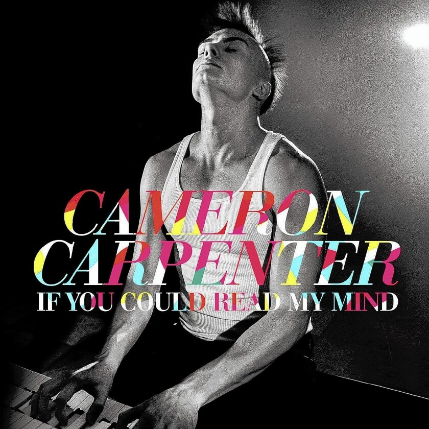 "The album cover of ""If You Could Read My Mind,""' music by Cameron Carpenter."