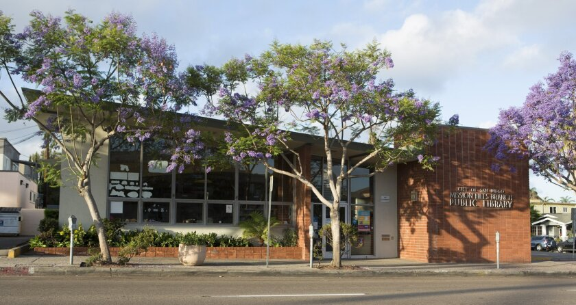 A new library serving Mission Hills and Hillcrest will replace the existing branch