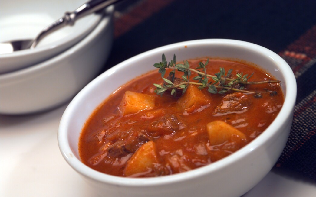 Cafe Cego S Goulash Soup Recipe Los Angeles Times