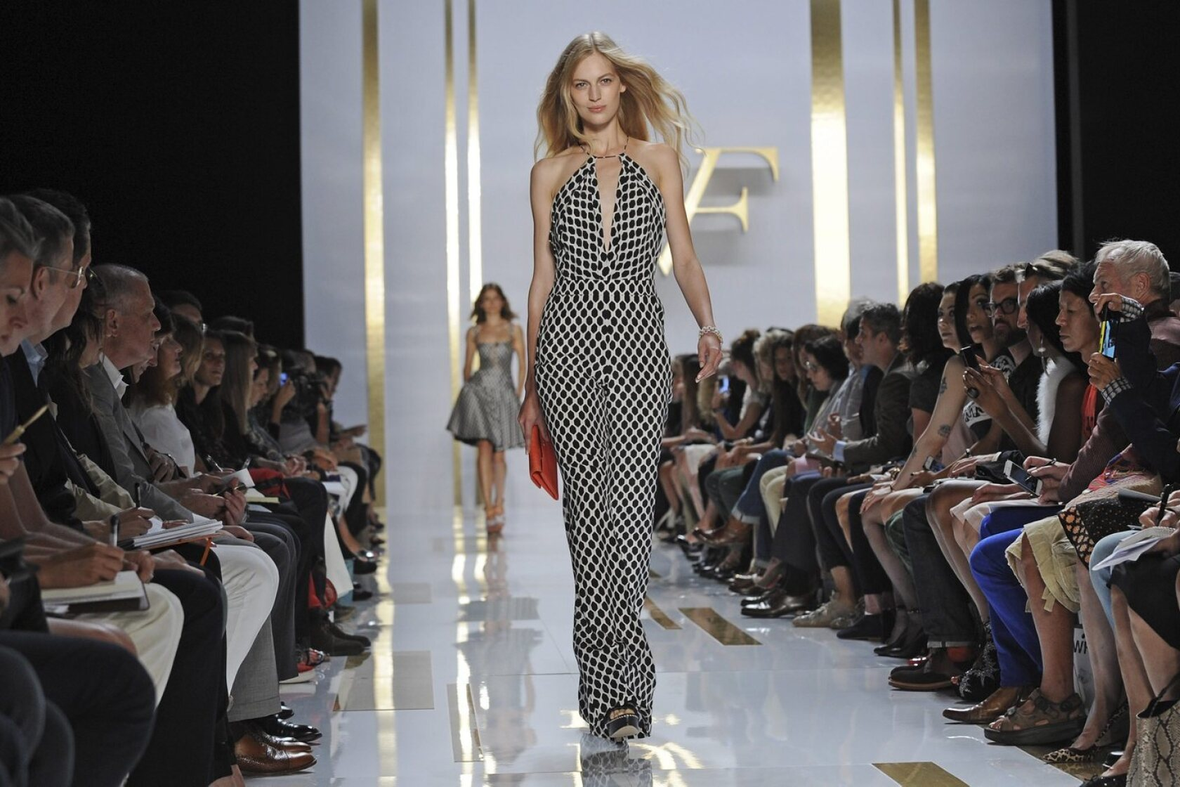 New York Fashion Week Spring 2014 Diane Von Furstenberg Review Los Angeles Times