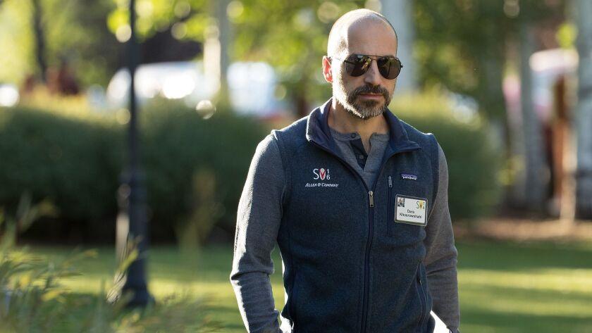 Uber Chief Executive Dara Khosrowshahi.
