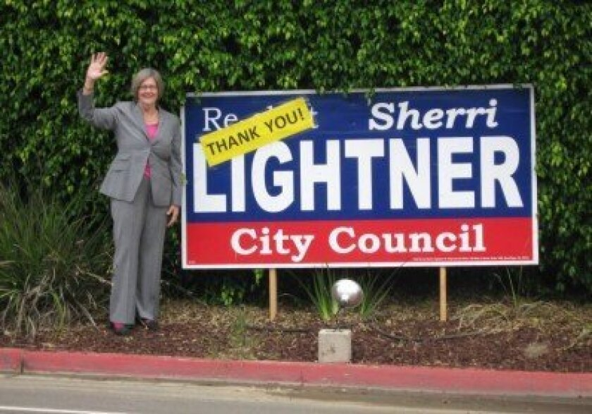 District 1 City Councilmember Sherri Lightner