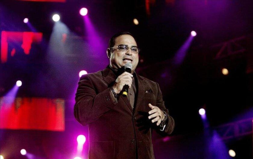 En la imagen, el cantante puertorriqueño Gilberto Santa Rosa. EFE/Archivo