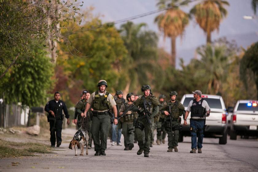 La masacre en San Bernardino provocó un caos en la vida de cientos de residentes de esta ciudad.