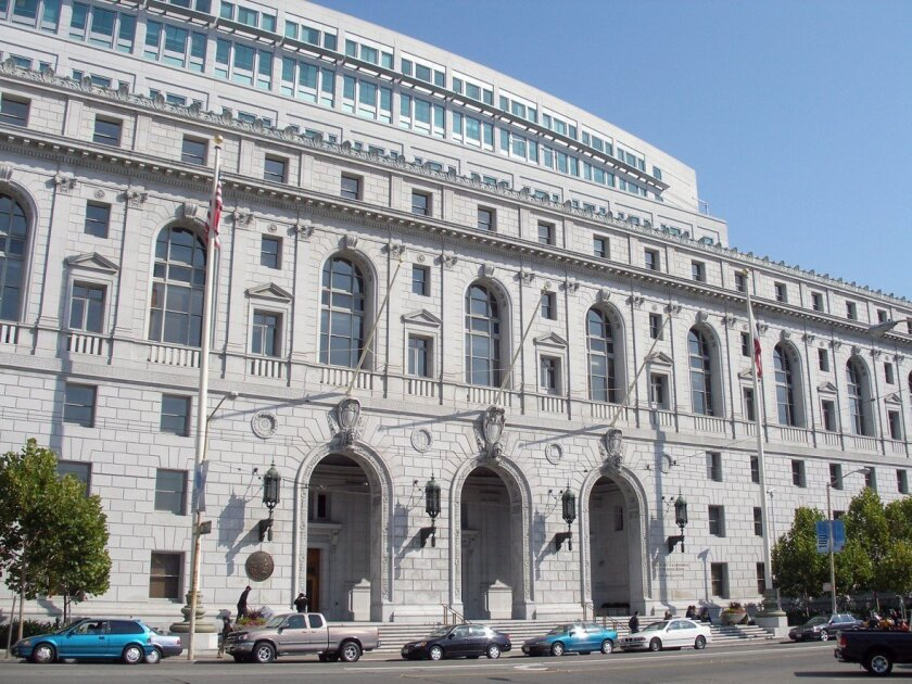 California Supreme Court building in San Francisco