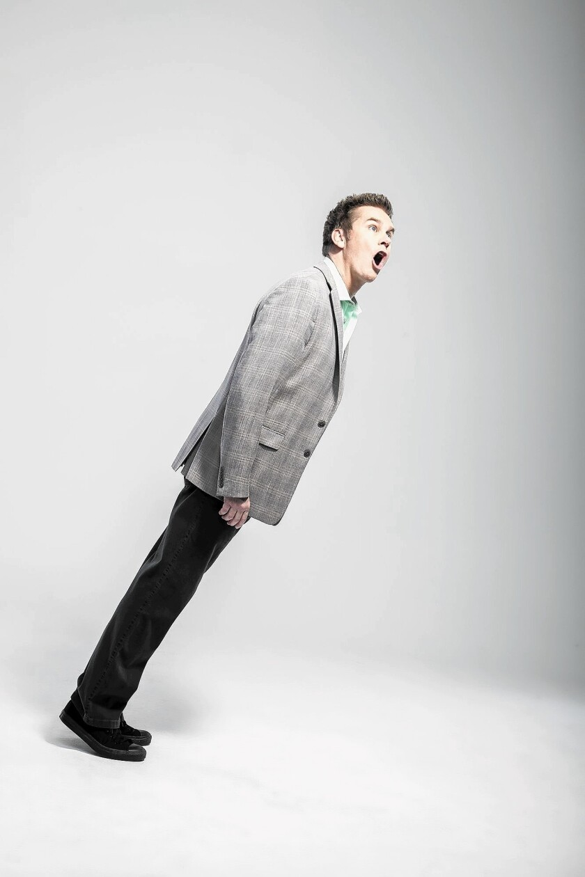 Brian Regan performs Saturday at the Segerstrom Center for the Arts.