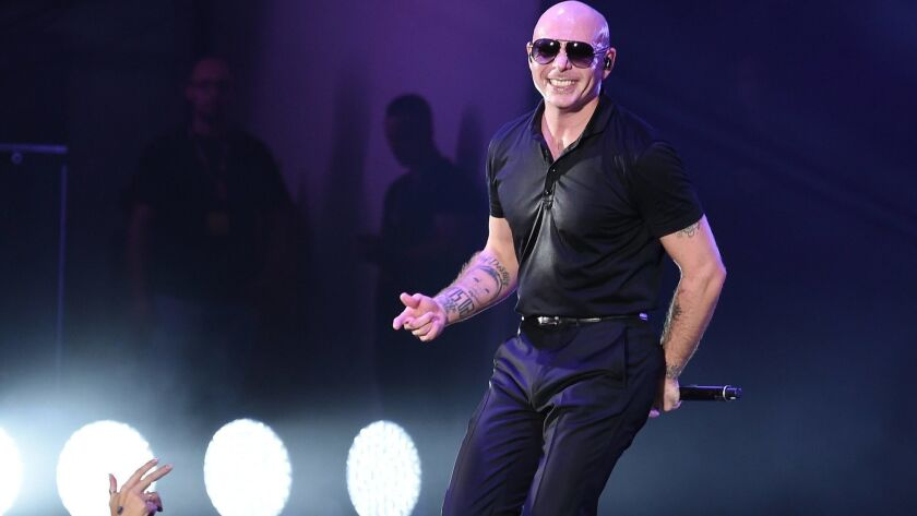 Pitbull announced that he is planning a motivational tour in 2019 with self help guru Tony Robbins.