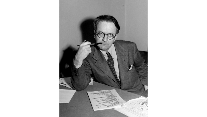 A surprising unpublished work by Raymond Chandler, the detective novelist, has been discovered.