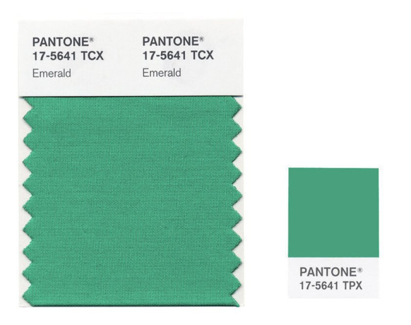 Renewal? Spring? Money? Color forecasters and amateur psychologists already see many things in Pantone's 2013 Color of the Year, Emerald.