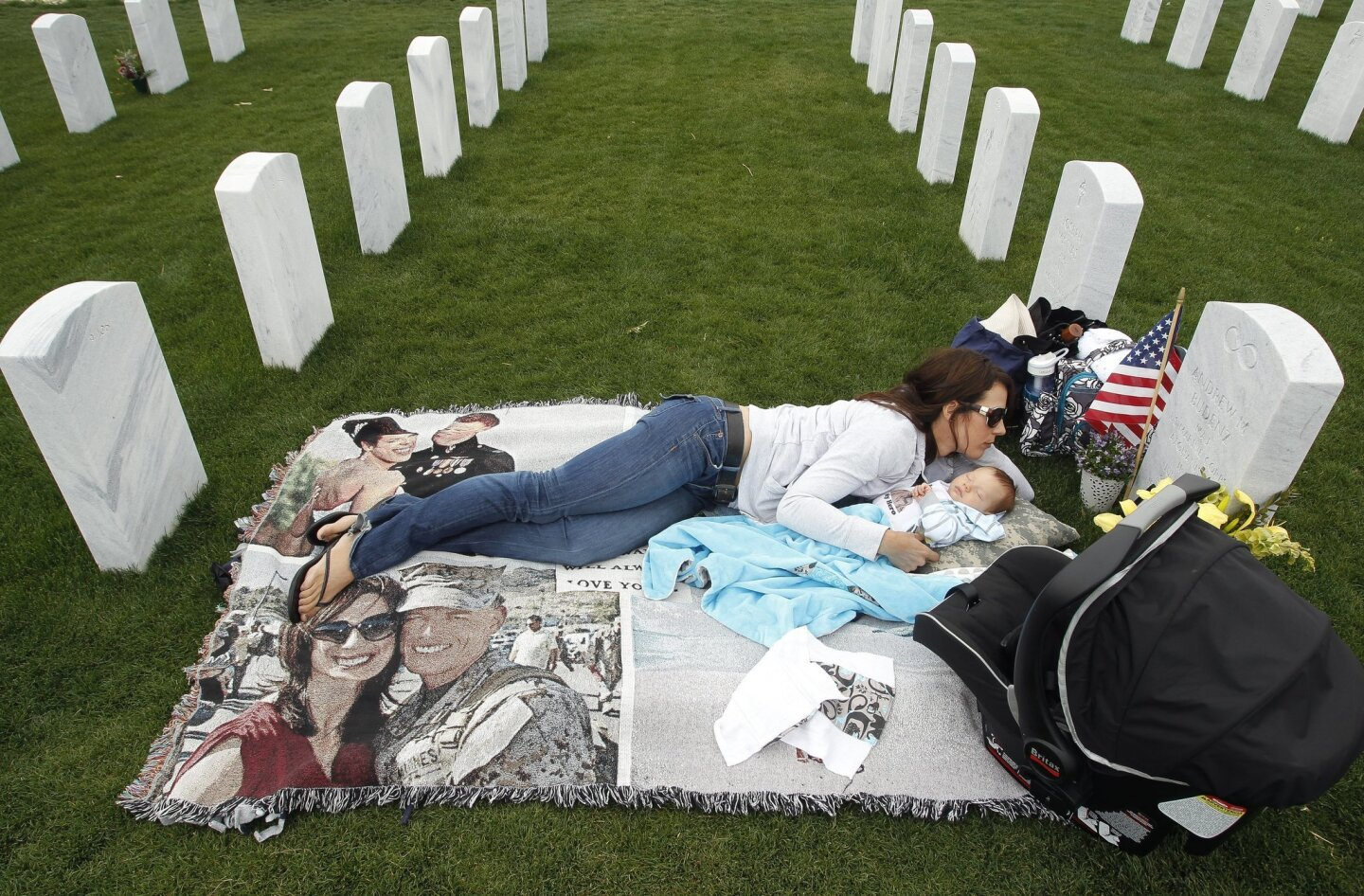 At Miramar National Cemetery Everyday