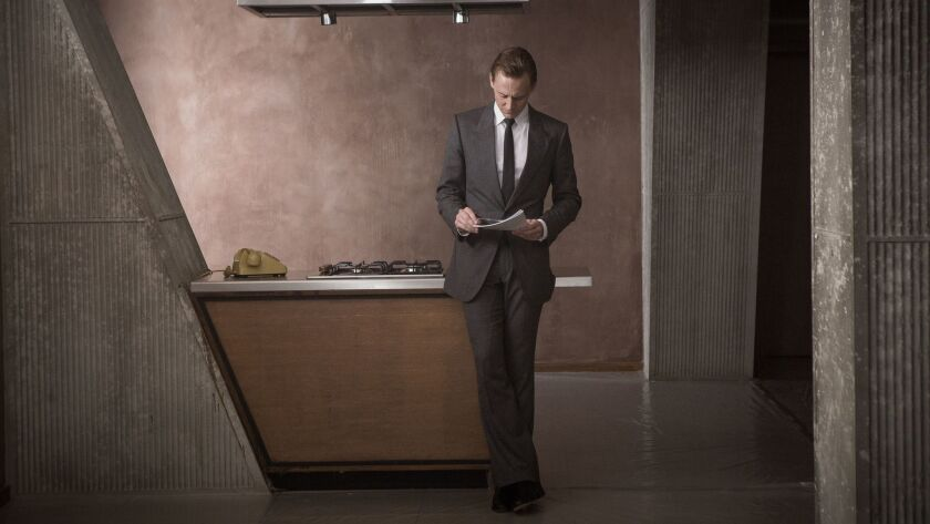 "Tom Hiddleston in ""High Rise,"" based on J.G. Ballard's dystopian novel."