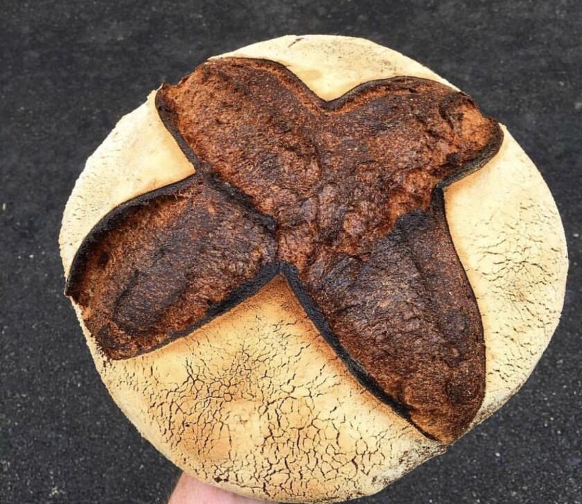 Roan Mills sourdough bread