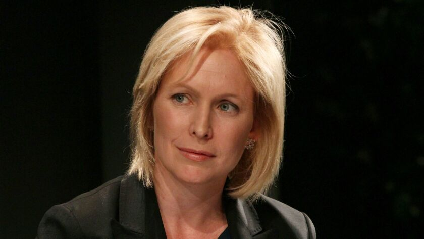 Sen. Kirsten Gillibrand (D-N.Y.) has been a leading voice in the national debate over how to confront sexual harassment and assault. She is considered a possible presidential contender in 2020.