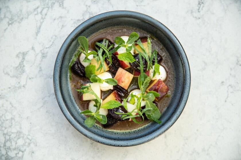 Openaire stone fruit salad