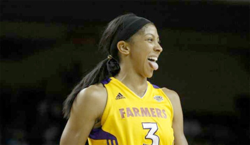 Candace Parker averaged 17.9 points with 8.7 rebounds per game for the Sparks last season. The Sparks will reportedly be purchased by a group of investors including Magic Johnson and other members of the Dodgers owners.