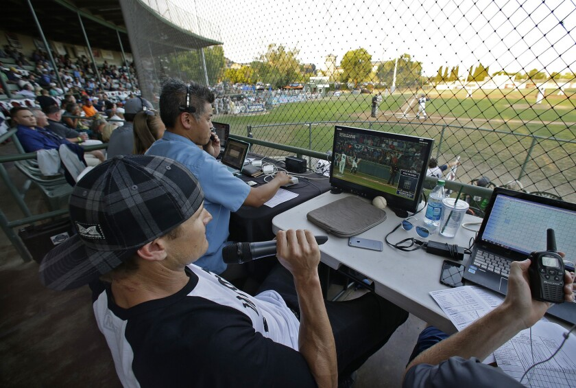 Former major league outfielder Eric Byrnes advocates using a computerized video system to call balls and strikes. The three-camera system is being tested in the Independent League in Northern California.
