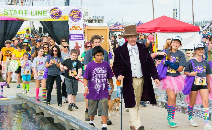 Wacky Wonky Walk & Kids Festival takes place 9 a.m. to 3 p.m., Sunday, Oct. 25, 2015 at San Diego Waterfront Park, County Administration Center, 1600 Pacific Highway in downtown San Diego.
