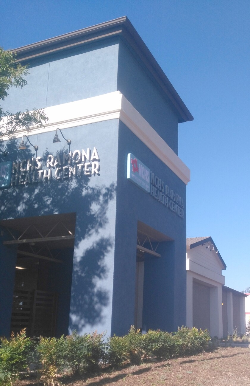 North County Health Services is reopening its Ramona Health Center at 220 Rotanzi St. along with other locations.