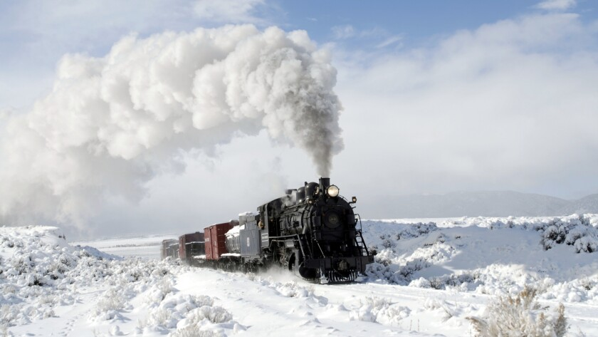 Photo Opp Of A Lifetime Aboard This Rural Nevada Steam Train Los Angeles Times