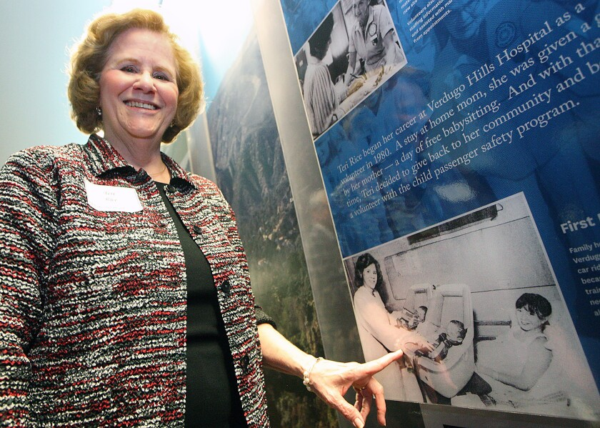 Photo Gallery: Verdugo Hills Hospital history wall unveiling