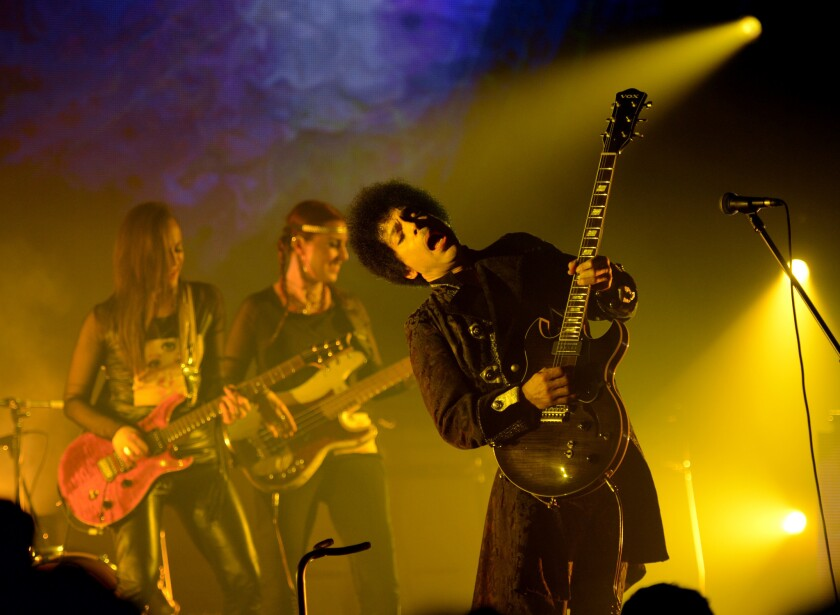 Review: Prince rocks (and rebuilds) in Anaheim