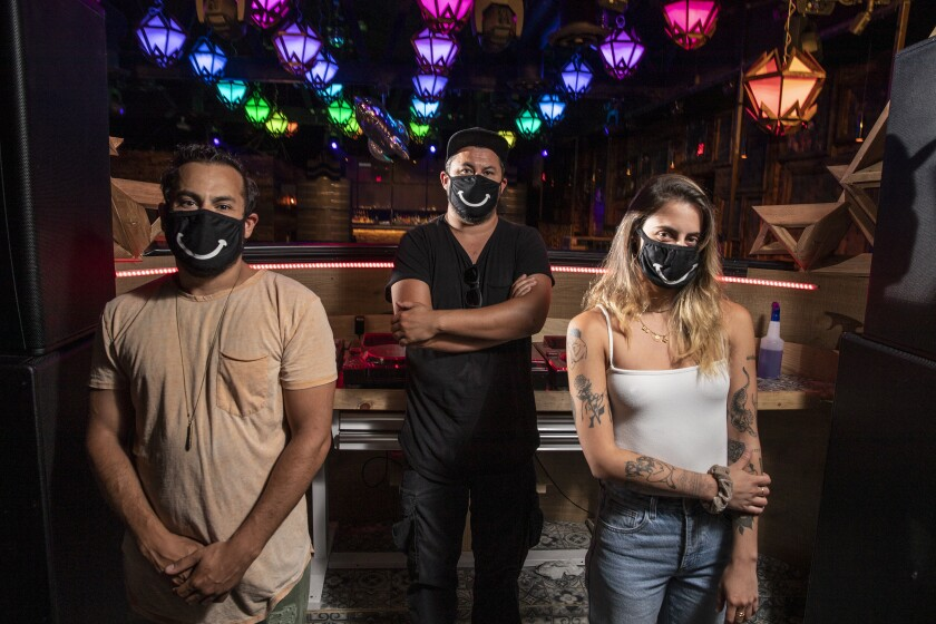 Sound nightclub staff