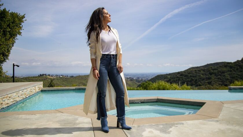 Kate del Castillo at home in Los Angeles.