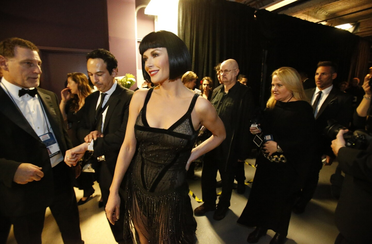 """Catherine Zeta-Jones performed """"All That Jazz"""" from the movie """"Chicago."""""""