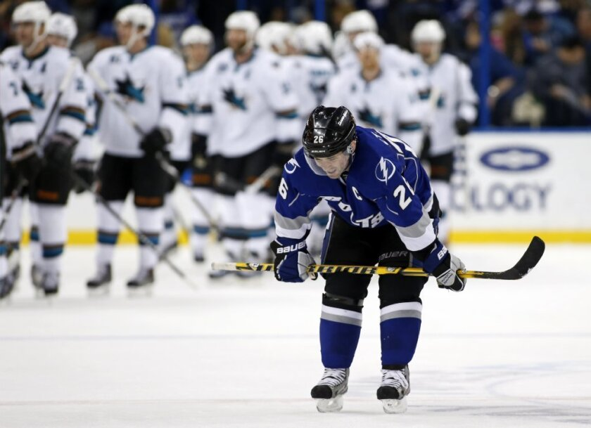 Martin St. Louis of the Tampa Bay Lightning is the newest member of Canada's Olympic men's hockey team.