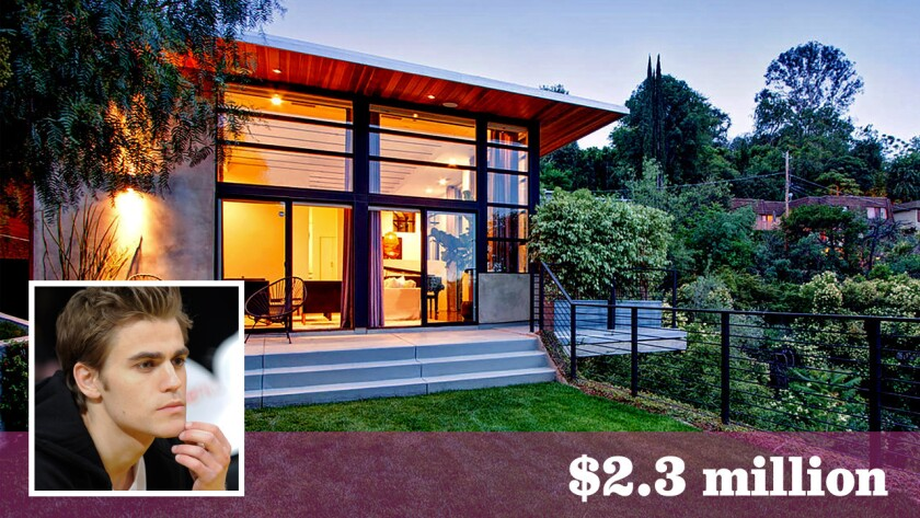 """Vampire Diaries"" star Paul Wesley has sold his home in Studio City for over the asking price."