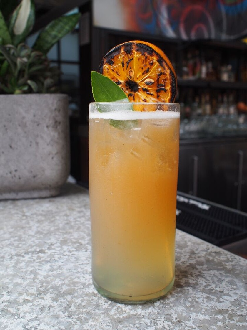 Mezcalito cocktail from Puesto.