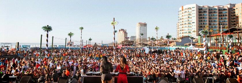 Baja Beach Fest and top Latin stars revive Rosarito, Mexico