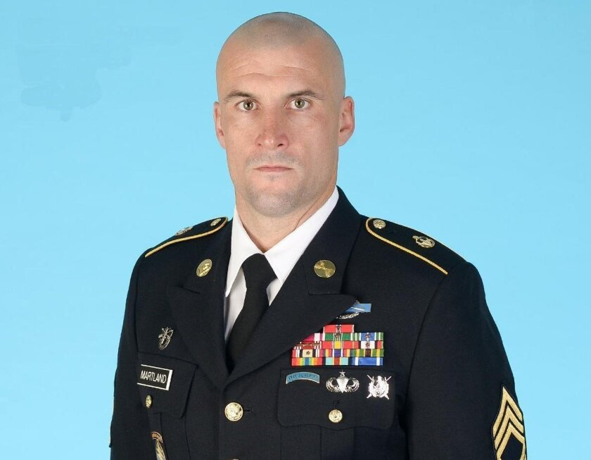 Sgt. First Class Charles Martland, a Green Beret, is set to be involuntarily discharged Nov. 1 because he attacked an Afghan police commander in 2011 who allegedly raped a boy.