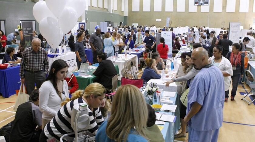 Attendees during the 2016 Glendale Health Festival.