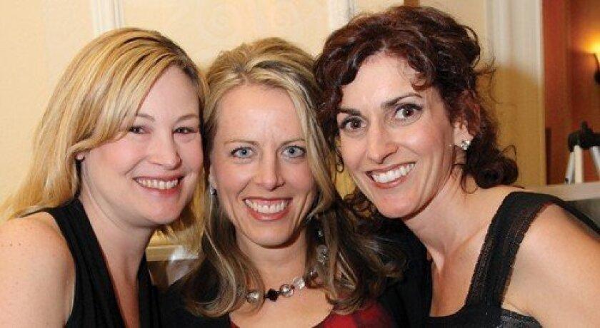 Michelle Cooper, Tiffany Hornsten, Julie Dalzell (Photo: Jon Clark)