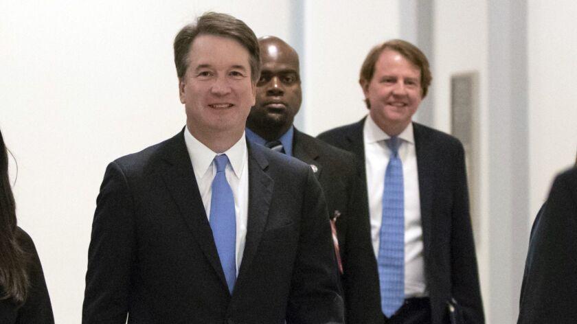 President Trump's Supreme Court nominee, Judge Brett Kavanaugh, will appear before the Senate Judiciary Committee this week.