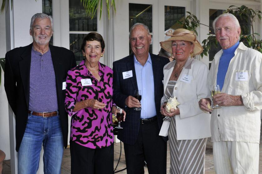 Charlie Christ, Judy and Dick Arendsee, Bibbi and Bob Herrmann