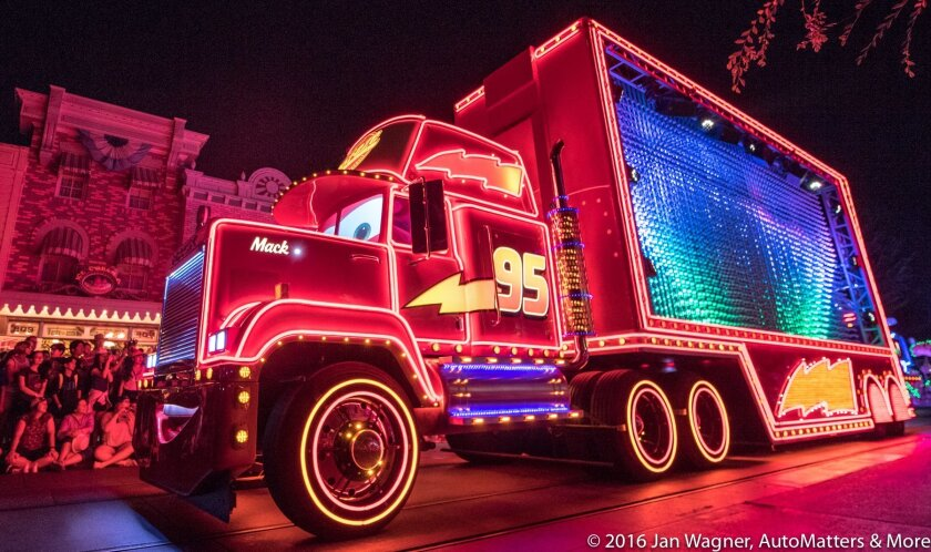 """Mack – a 54-foot big rig from """"Cars"""""""