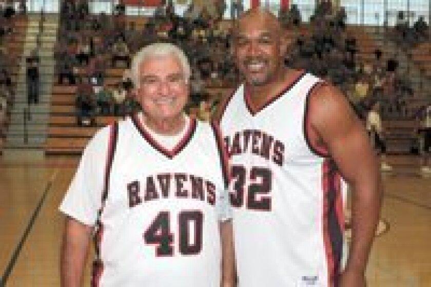 Solana Beach Mayor Joe Kellejian and Vincent Langston