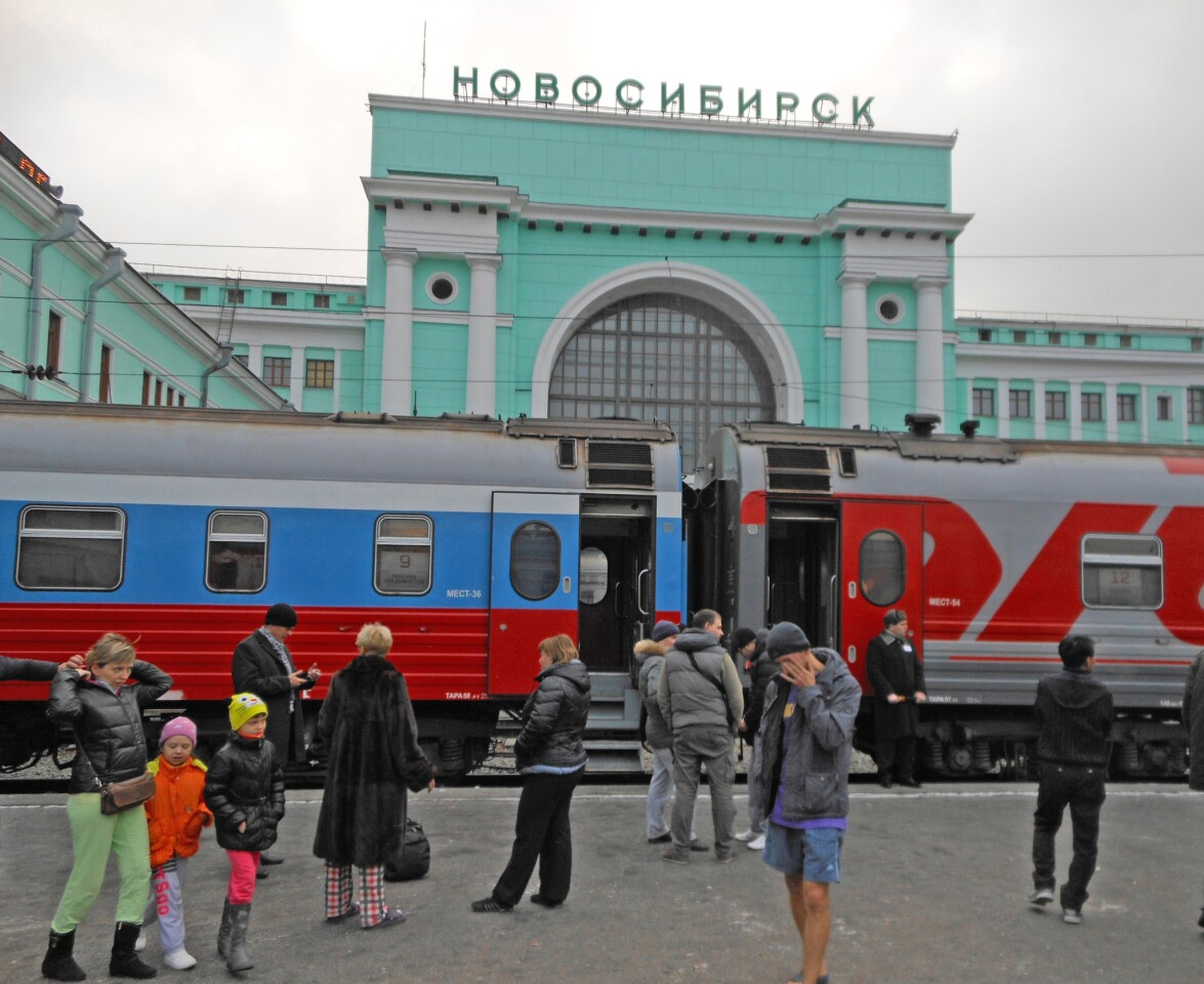 Novosibirsk, founded in 1893, is Siberia's largest city, with 1.5 million residents, and owes its existence and growth to the railway project.
