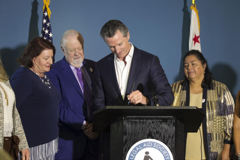 Governor Newsom signs housing bill