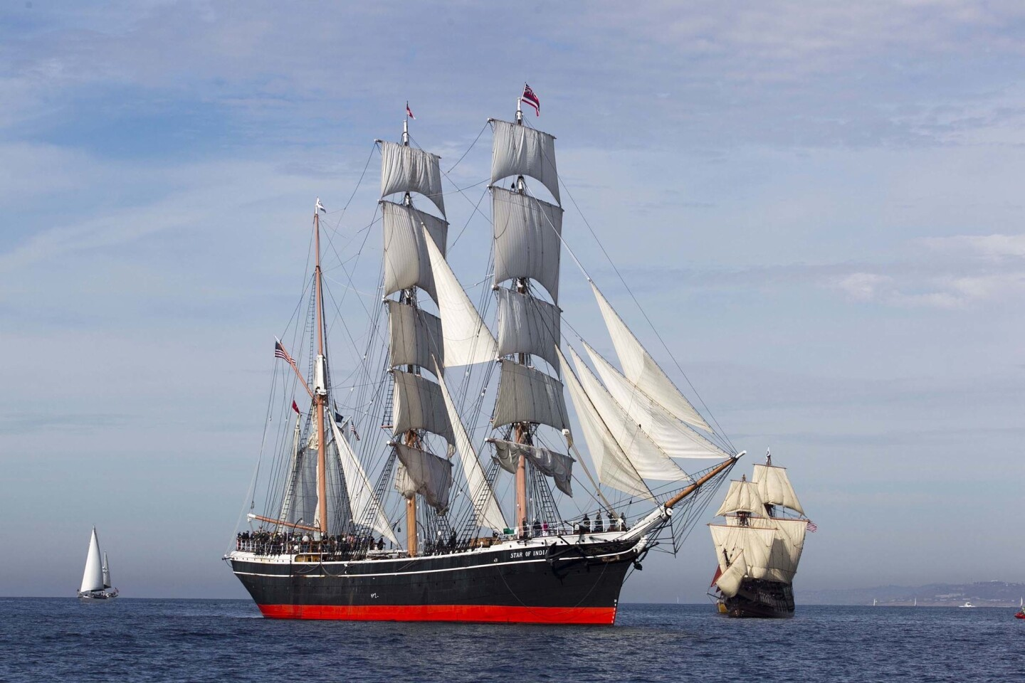 Star of India Sails