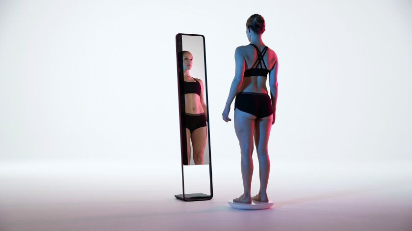 Naked Mirror - For those who feel their bodies are changing but the scale stays the same - this new